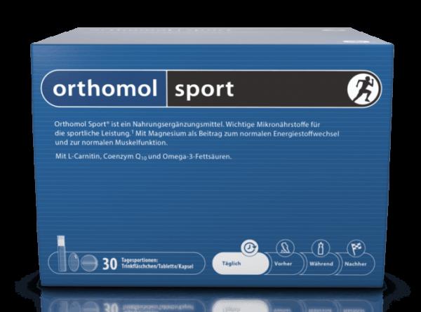 Orthomol Sport с Омега 3 (сильный дефект упаковки)