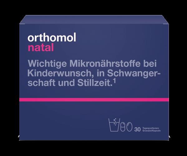 Orthomol Natal (таблетки + капсулы)