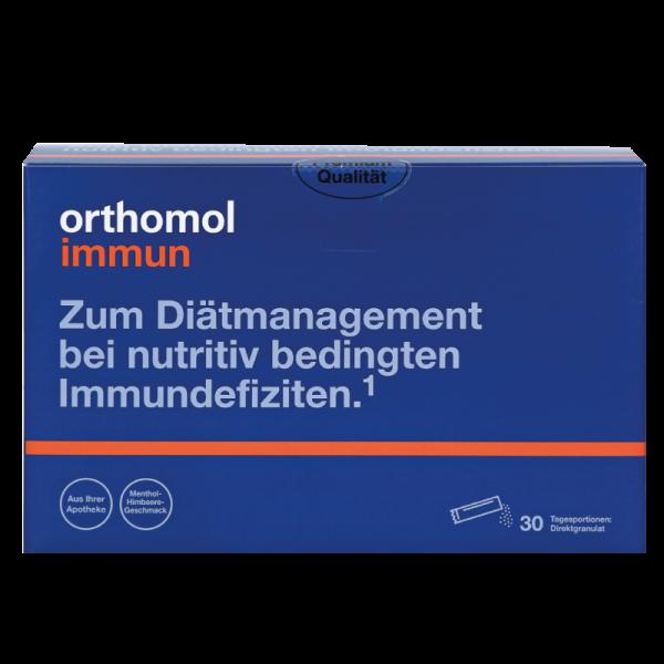 Orthomol Immun (гранулы директ ментол / малина)