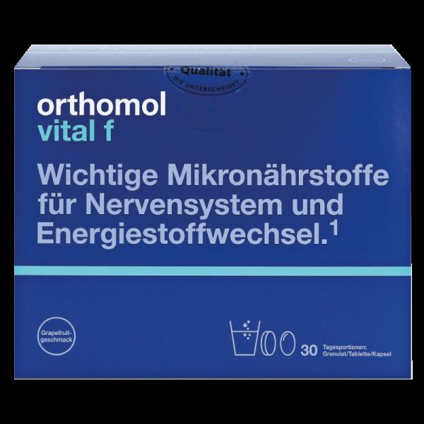 Orthomol Vital F (гранулы грейпфрут + таблетки + капсулы) (годен до 09-05-2021)