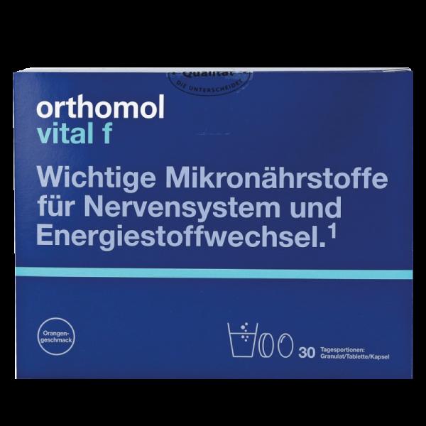 Orthomol Vital M (гранулы апельсин + таблетки + капсулы)
