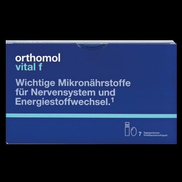 Orthomol Vital F (питьевые бутылочки + капсулы)