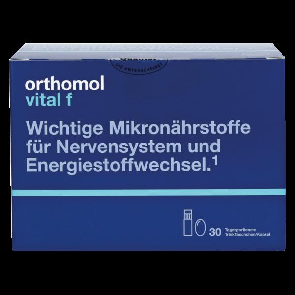 Orthomol Vital F (питьевые бутылочки + капсулы) (годен до 05-10-2021)